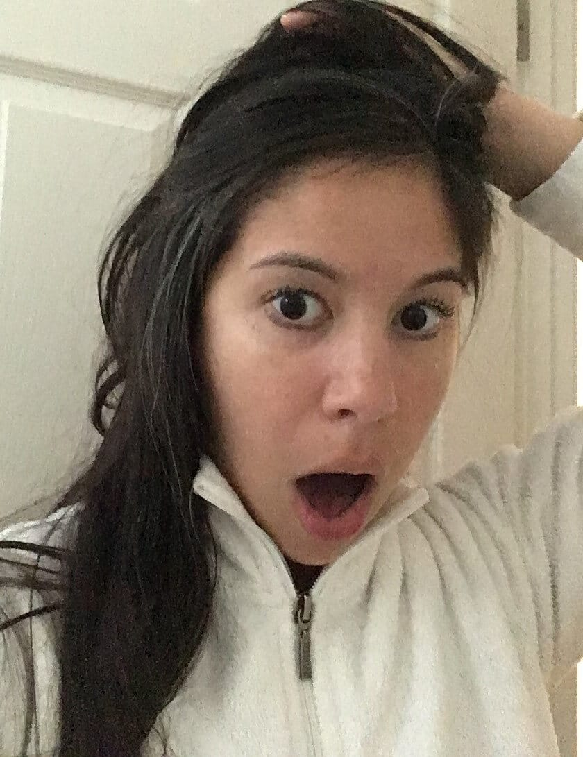 Christine with a Surprised Look