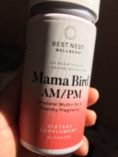 Picture of Mama Bird AMPM Prenatal Multi+ By Best Nest Wellness